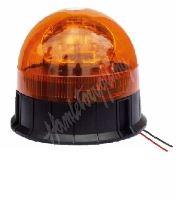 wl85fixH1 Halogen maják, 12 i 24V, oranžový fix, ECE R65
