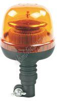 wl71hr LED maják, 12-24V, 45xSMD2835 LED, oranžový, na držák, ECE R65