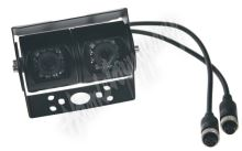svc5011ccd Dual Kamera 4PIN CCD SONY s IR, vnější