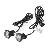 kf312 2x PROFI výstražné LED světlo vnější oranžové, 12-24V, ECE R65
