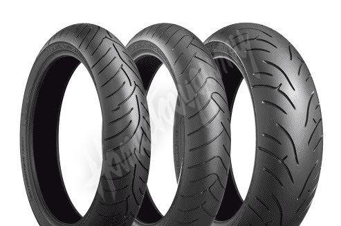 Bridgestone Battlax BT023 120/70 ZR17 + 190/50 ZR17