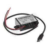 34156 Měnič napětí 12-24/5V, 3A USB-C