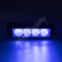911-E4blue PROFI výstražné LED světlo vnější, 12-24V, modré