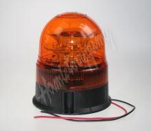 wl84fix LED maják, 12-24V, 16x3W, oranžový fix, ECE R65