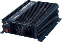 351212 Měnič napětí z 12/230V + USB, 1200W