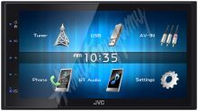 "KW-M24BT JVC 2DIN autorádio/6,8"" displej/USB/AUX/Bluetooth"