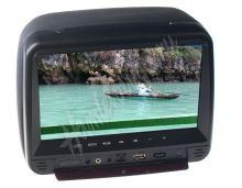 """ds-x99hd DVD/SD/USB monitor 9"""" v černé opěrce"""