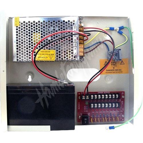 12VDC-5A8P B napájecí zdroj