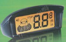 ps4w Parkovací systém bezdrátový s LCD, 4 senzory