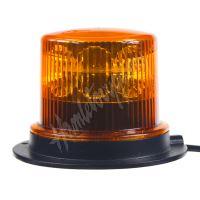 911-36m PROFI LED maják 12-24V 36x1W oranžový magnet ECE R65 130x100 mm