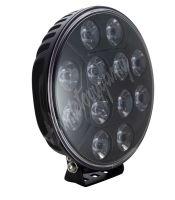 wld1210E LED 12x10W dálkové pracovní světlo, 10-30V, 218 mm, ECE R112