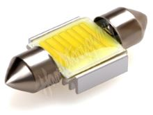 95COB04 LED sufit (31mm) bílá, 12V, COB