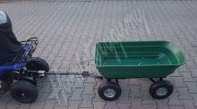 Dětská elektro čtyřkolka ATV Torino 800W 36V červená