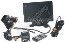 """se667 Parkovací kamera s 7"""" monitorem"""