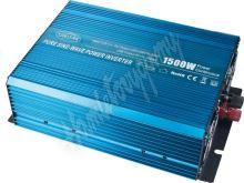 35psw1524 Sinusový měnič napětí z 24/230V + USB, 1500W