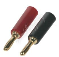 cp4071 Singl banana konektor pro kabel do 10mm (pár)