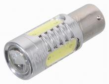 Žárovka 4 SMD LED 12V Ba15S s rezistorem CAN-BUS ready bílá