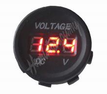 34530 Digitální voltmetr 5-48V červený