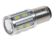 95281 LED BA15d (jednovlákno) bílá, 12-24V, 16LED/5730SMD