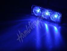 kf325blu PREDATOR LED vnější, 12x LED 1W, 12V, modrý
