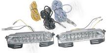 drlMINI1812 x LED světla pro denní svícení, 120x24mm, ECE