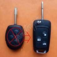 48FO104 Náhr. obal klíče pro Ford, 3-tlačítkový