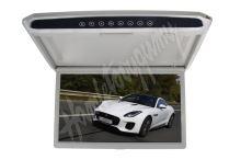 """ds-173gr Stropní LCD monitor 17,3"""" USB/SD/HDMI/IR/FM, šedý neotočný"""
