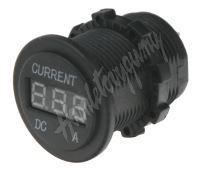 34544 Digitální ampérmetr 0-10A červený
