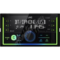 KW-X830BT JVC 2DIN autorádio bez mechaniky/Bluetooth/USB/AUX/Multicolor