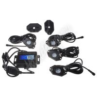 LEDrockRGB3 LED podsvětlení podvozku RGB 12/24V, Bluetooth, 12x3W