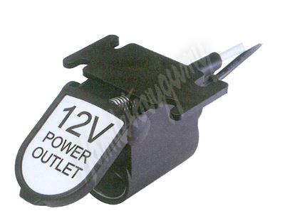 34509 CL zásuvka ve voděodolném držáku