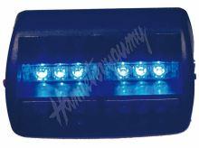 kf748blue PREDATOR LED vnitřní, 18x LED, 12V, modrý, 125mm