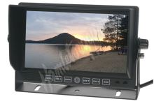 "sv72dvr Monitor 7"" se 4x4PIN vstup, DVR"