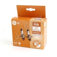 Halogenová žárovka Extra Life GE H4-EL