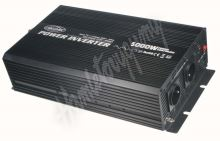 355024 Měnič napětí z 24/230V + USB, 5000W