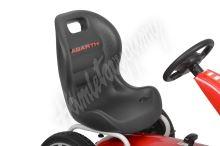 ABARTH - red - šlapací motokára