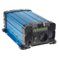 35psw612DD Sinusový měnič napětí z 12/230V, 600W / displej