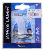 Žárovka 12V  H3  55W Pk22s WHITE LASER blister 2ks