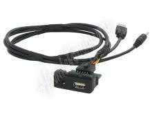551MZ1 USB+JACK konektor Mazda