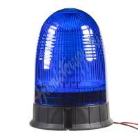 wl55fixblue LED maják, 12-24V, modrý, 80x SMD5730, ECE R10
