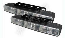 sj-293en LED světla pro denní svícení, 166x25,5mm, ECE