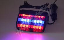 kf748blre PREDATOR LED vnitřní, 18x LED, 12V, modro-červená, 125mm