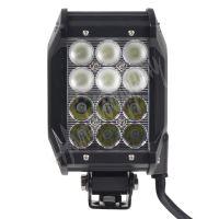 wl-cree36-2c LED světlo,dva úhly vyzařování 8/60°, 12x3W, 99x93x167mm