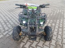 """Dětská čtyřtaktní čtyřkolka ATV Toronto RS 125ccm DELUXE maskáč ze 1rych. poloaut 7""""kol"""