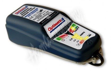 OptiMate 4 DUAL (12V/0,8A) 3-50 Ah, Auto-Moto Automatická nabíječka gelových baterii