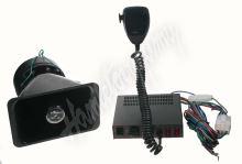 SN80Ws2 xProfesionální výstražný systém s mikrofonem 80W
