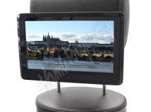 """ds-x11mpblack SD/USB monitor 10,1"""" s držákem na opěrku, dotyk. obrazovka, české menu"""