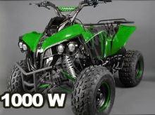 Dětská elektro čtyřkolka ATV Street Hummer 1000W 48V zelená