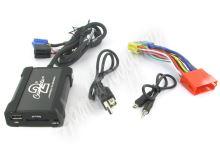 55usbad003 Connects2 - ovládání USB zařízení OEM rádiem Audi/AUX vstup