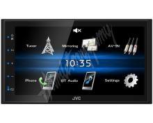 "KW-M25BT JVC 2DIN autorádio/6,8"" displej/USB/AUX/Bluetooth"